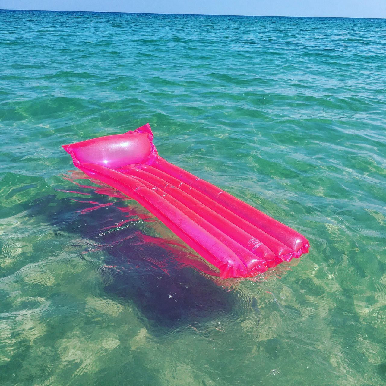 Beachphotography Pop Color Explosion Pink Color Eyeemphoto Sea And Sky Sea No People Colorful Water