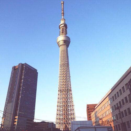 Happy Chinese New Year from Tokyo Japan Tokyo Sky Tree Goodmorning 木曜日 東京スカイツリー 墨田区 東京