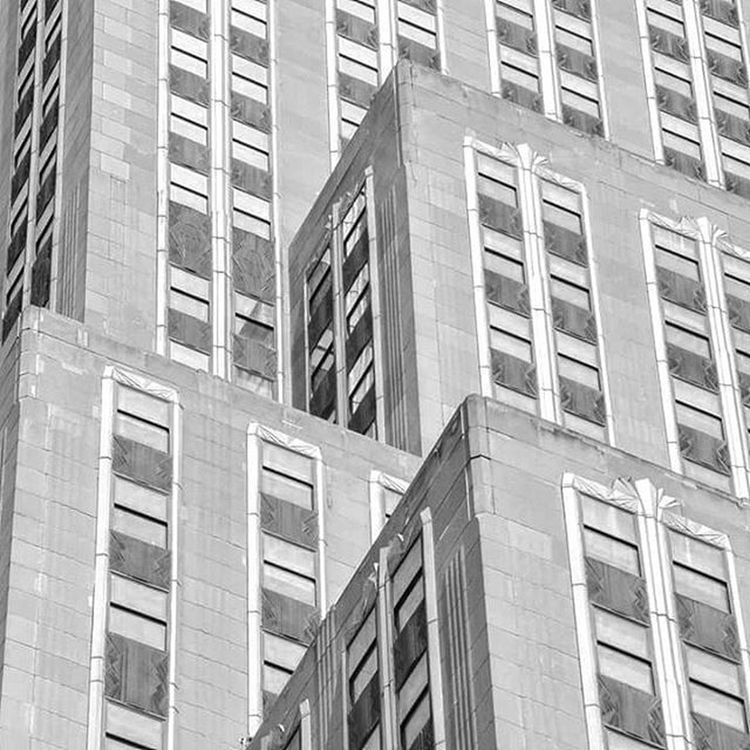 Detail in The Empire State Building NYC Empirestatebuilding Blackandwhite Architecture Photography Travelphotography Onlinenewyork Nycdotgram Nycprimeshot