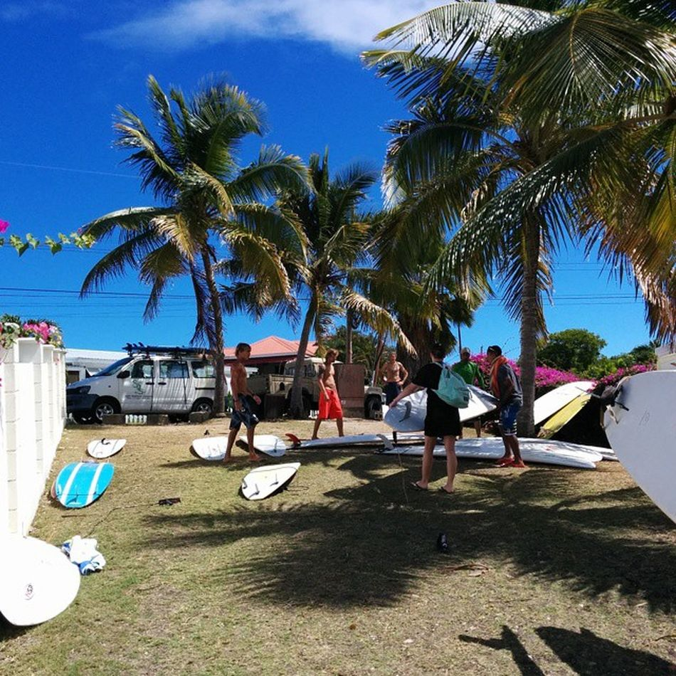 Just finished a great surf. Thanks to @zedsurfingadventure @jacob_layson Surfing Barbados Southpoint Standup