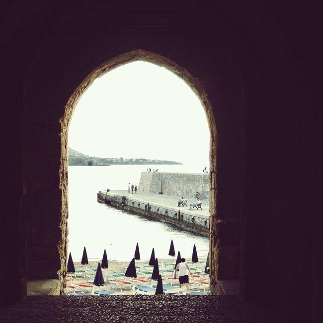 Sicily Beach Archway