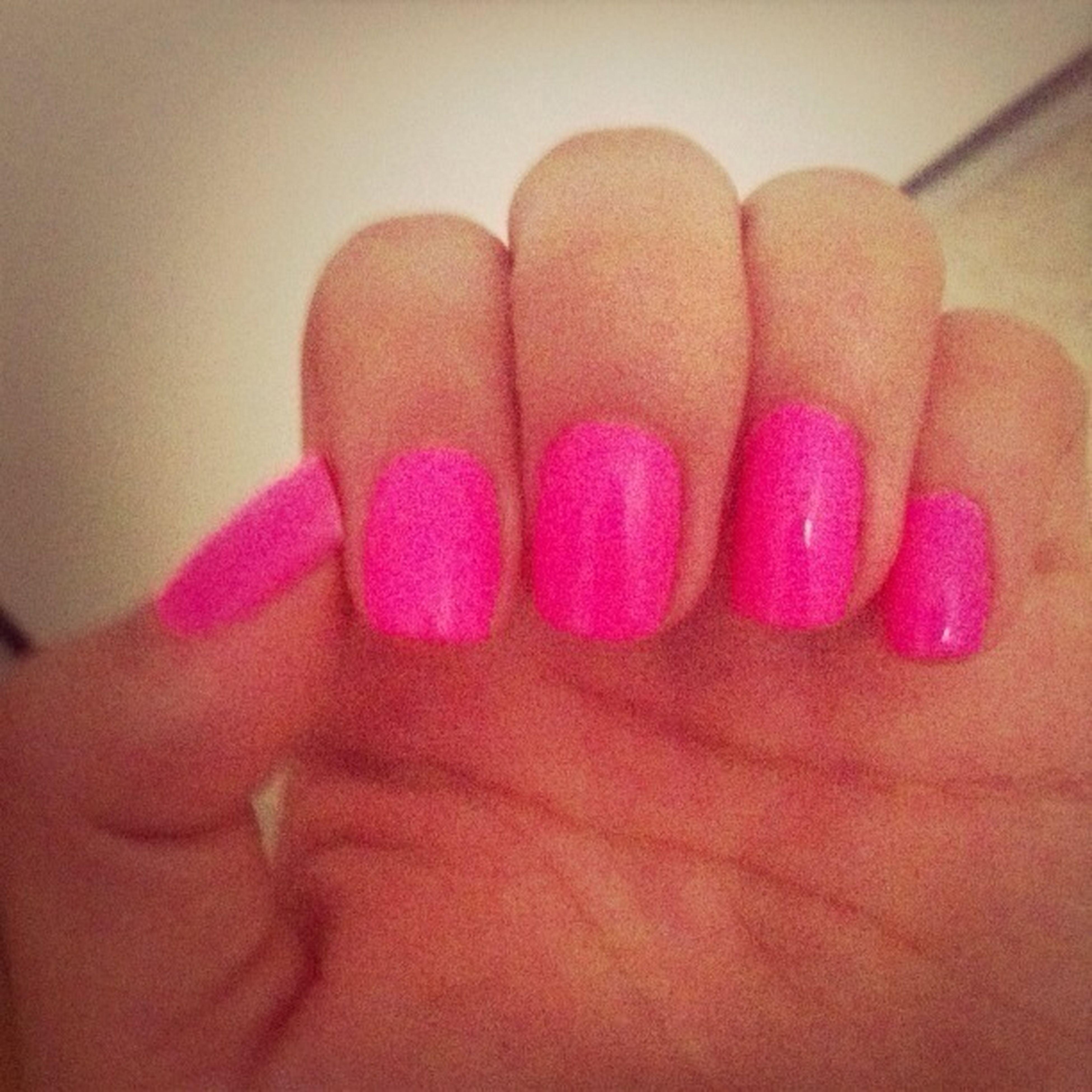 Pink Nails <3