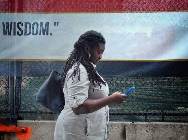 Wisdom Streetphotography Streets Of Philadelphia Portrait Of A Woman Mobilephotography FUJIFILM X-T1