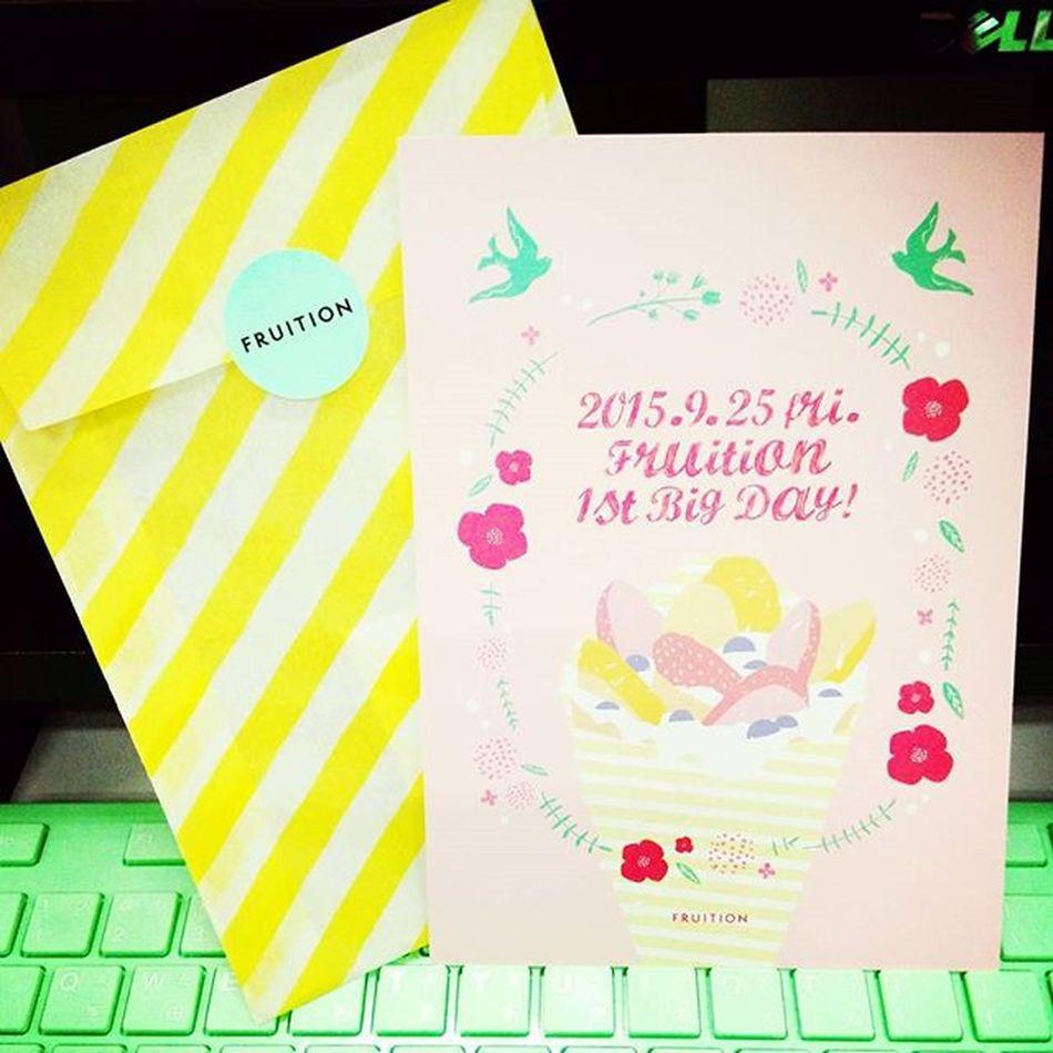 最時髦的女性潮鞋FRUITION一歲了!連邀請函都可愛到不行~Fruition 1st Birthdayparty Mobile01 愛曼達