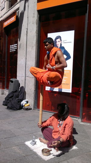 Can YOU do that? Europe Trip Full Length Indian Magic Person Trick  Young Adult