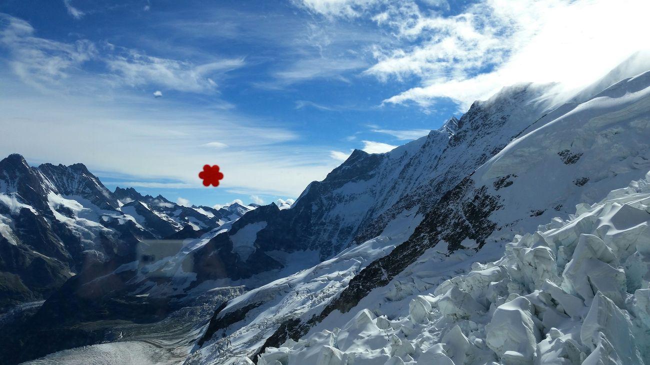 Edge Of The World Jungfraujoch Switzerland Anbernika Stickers TheAlps Topofeurope