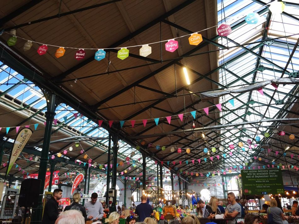 St. Georges Market. Belfast Northern Ireland St. Georges Market Market Stall Market Marketplace Indoors  Ceiling Consumerism Lifestyles Leisure Activity Sunday Morning Peaceful Grocery Shopping Produce Artisan Relaxing Travel Happy