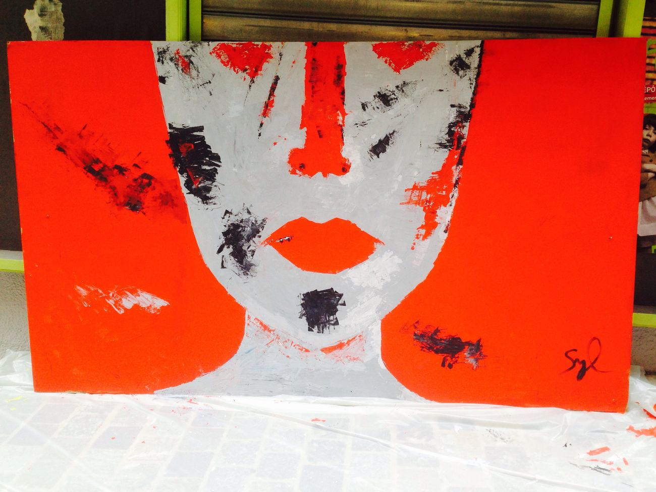 Street-photography Art Street Photography Peinture Hello World rue Napoléon Bastia Igercorse