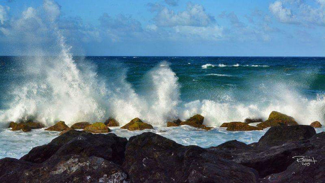 Old San Juan Puerto Rico Beach Ocean Viejo San Juan Olas Caribbean Blue Oceano Wave Beach
