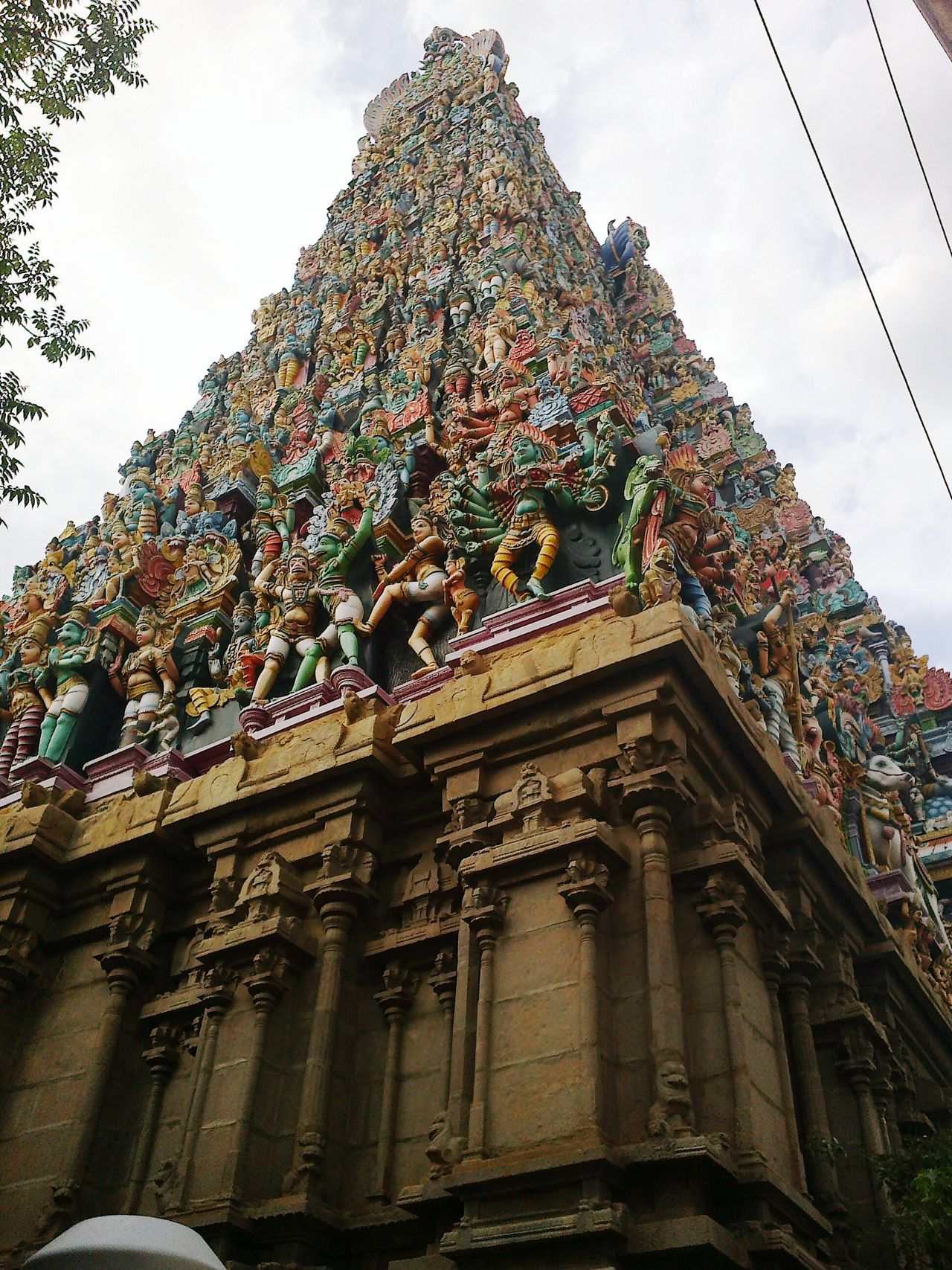 First Eyeem Photo Gods Tampal Many Gods On One Roof South India Trip Art Handycraft Colourful Many Sculptures
