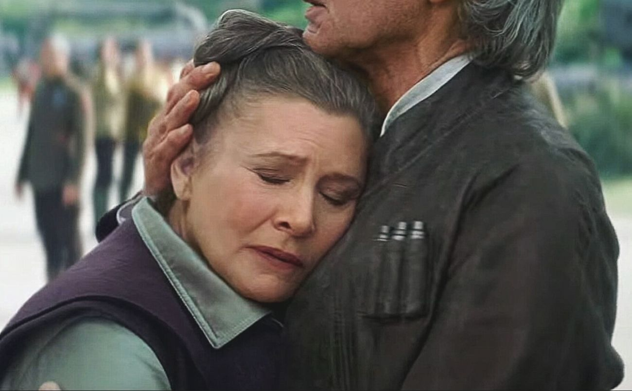 Thank you, Rebel Princess. You will be greatly missed. Ripcarriefisher Princess Leia