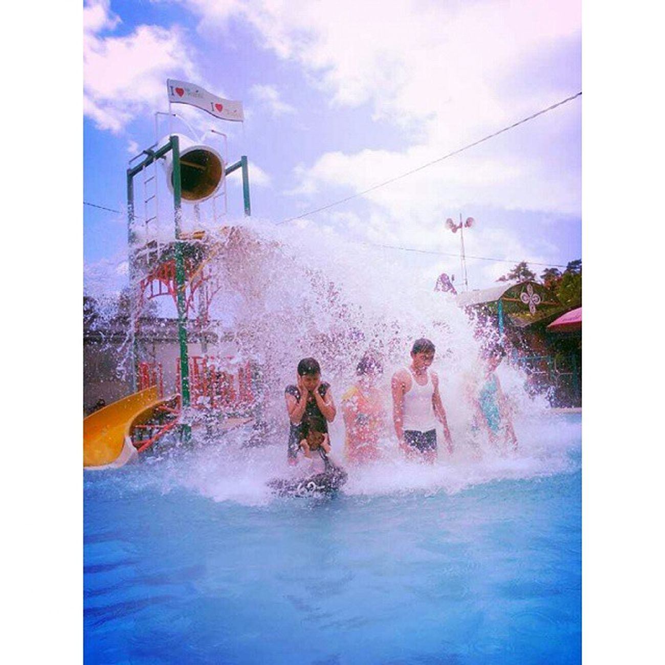HotWater Water Splash Waterboom nature family vacation ciwalini ciwidey