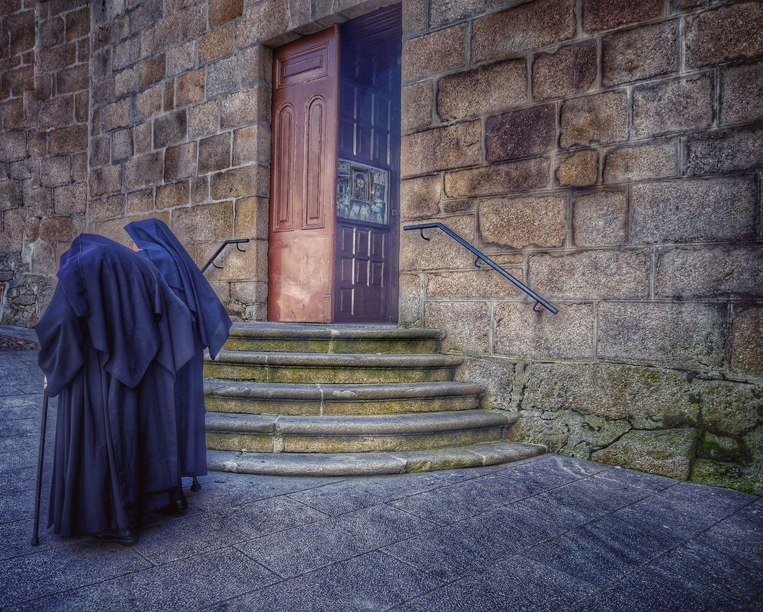 People Together Human Representation Human Religiosas Monjas Hdr_Collection Hdr_Collection Hdrphotography From My Point Of View Architecture_collection Architecture Photography The Human Condition Showcase July Capture The Moment Two Is Better Than One StairsOurense Galicia, Spain