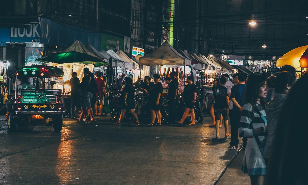 Late night street shopping in Bangkok, Thailand. Shoptillyoudrop Large Group Of People Crowd City People Night Outdoors Late Night Shopping Night Shopping Street Shopping Street Photography Night Photography Bangkok Thailand BYOPaper! The Street Photographer - 2017 EyeEm Awards