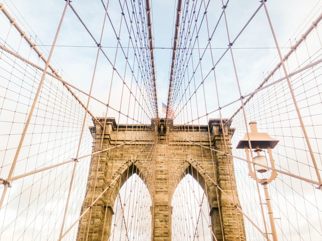 Beautiful stock photos of new york, American Flag, Arch, Architecture, Bridge - Man Made Structure