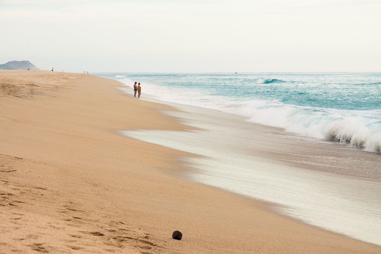 Beautiful stock photos of mexico, beach, sea, horizon over water, sand