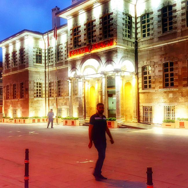 City Life Nightphotography Night View Night Out Night Lights Outdoors Walking One Person Horizontal Architecture Building Exterior City Travel Destinations Travel Photography Konyayasam Konyagram Konyainstagram