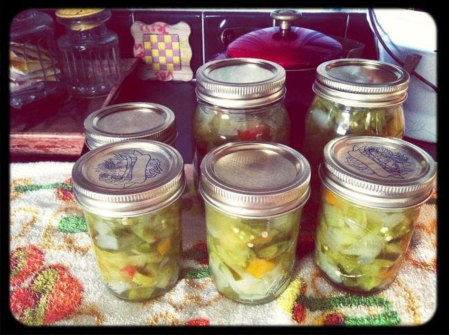 Canning Veggies