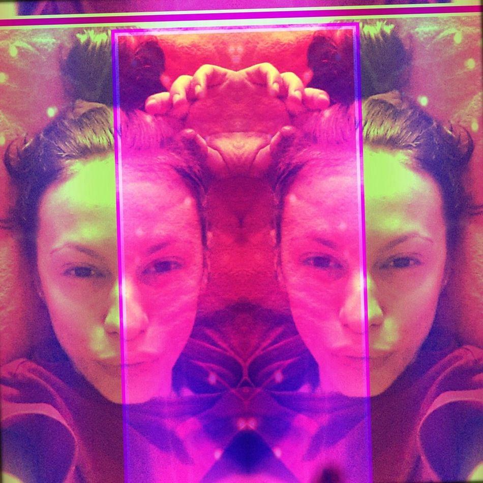 Selfie Colors Lips Eyes