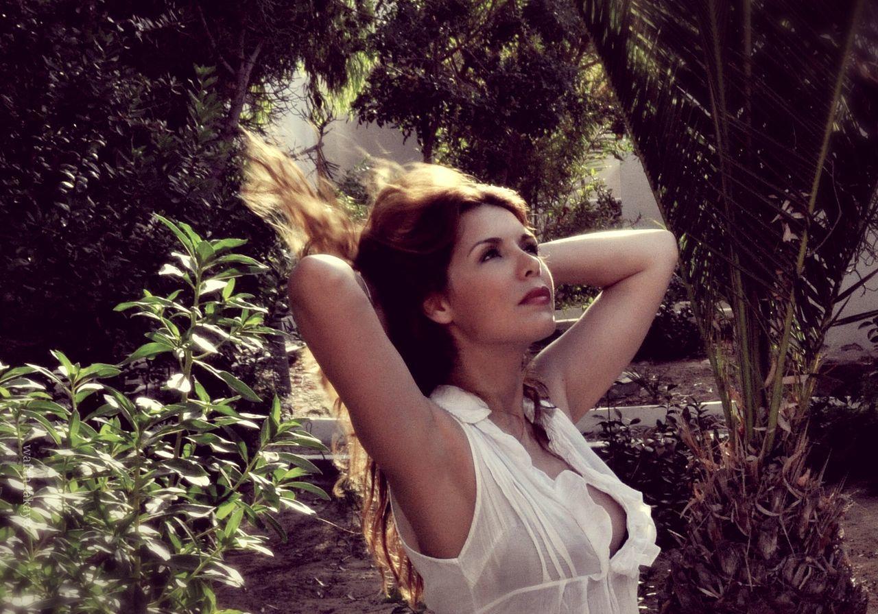 Beautiful stock photos of dream, Beautiful Woman, Brown Hair, Contemplation, Day