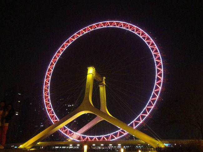 Tianjin Eye 摩天轮