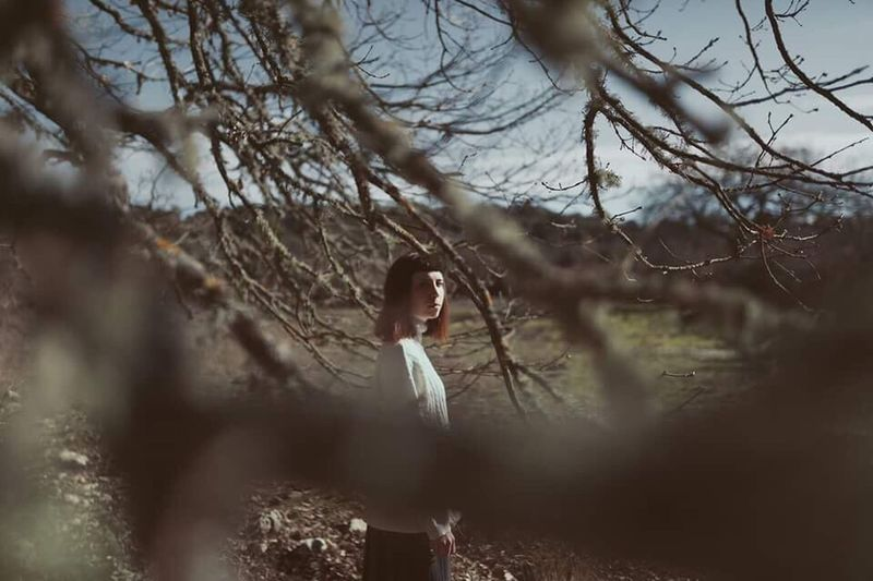 Earth embraced us but we forgot. Celeste, 2017. Tree One Person Branch Outdoors Nature People Canon Sardegna EyeEmNewHere Nature Portrait Youth Beauty In Nature Girl Earth EyeEm Best Shots EyeEm Nature Lover EyeEm Gallery Eye EyeEmNewHere The Portraitist - 2017 EyeEm Awards