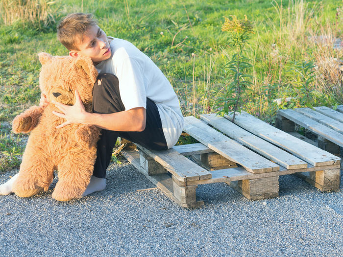 #LonelyAndHomeless Alone Boy Childhood Daydreaming Dislodged Homeless Homesick  Homesickness Loneliness Lonely Lonelyplanet Miss Missing Student Student Life Teddy Teddybear Teen Teenager Young