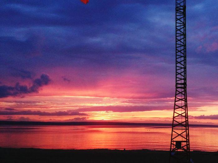 Ulsk Sunset Evening Beach
