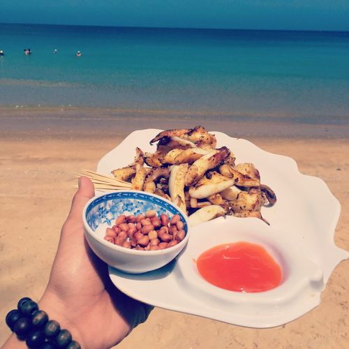 The Foodie - 2015 EyeEm Awards Octopus And Peanuts Octopus Grill Eat In The Sea Enjoy My Life  My Favourite Seafood Viet Nam