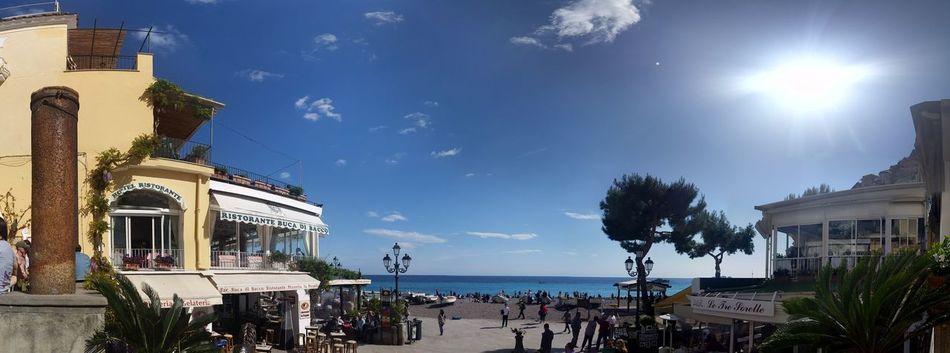 Beach Campania Coast Positano Coastline Italy
