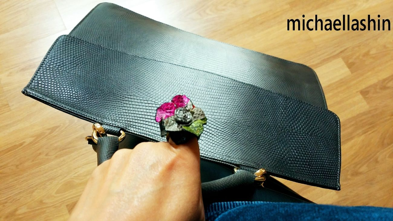 Newarrival leather ring & leather bag Michaellashin Seoul, Korea Nice