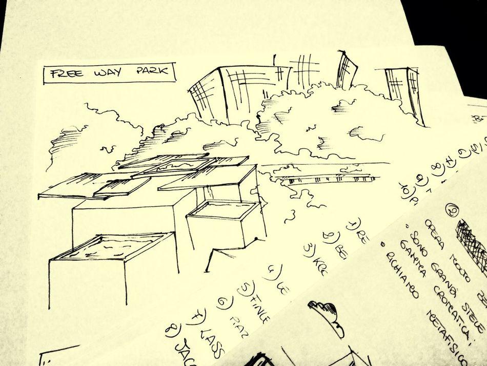 Scketch Freewaypark Appunti