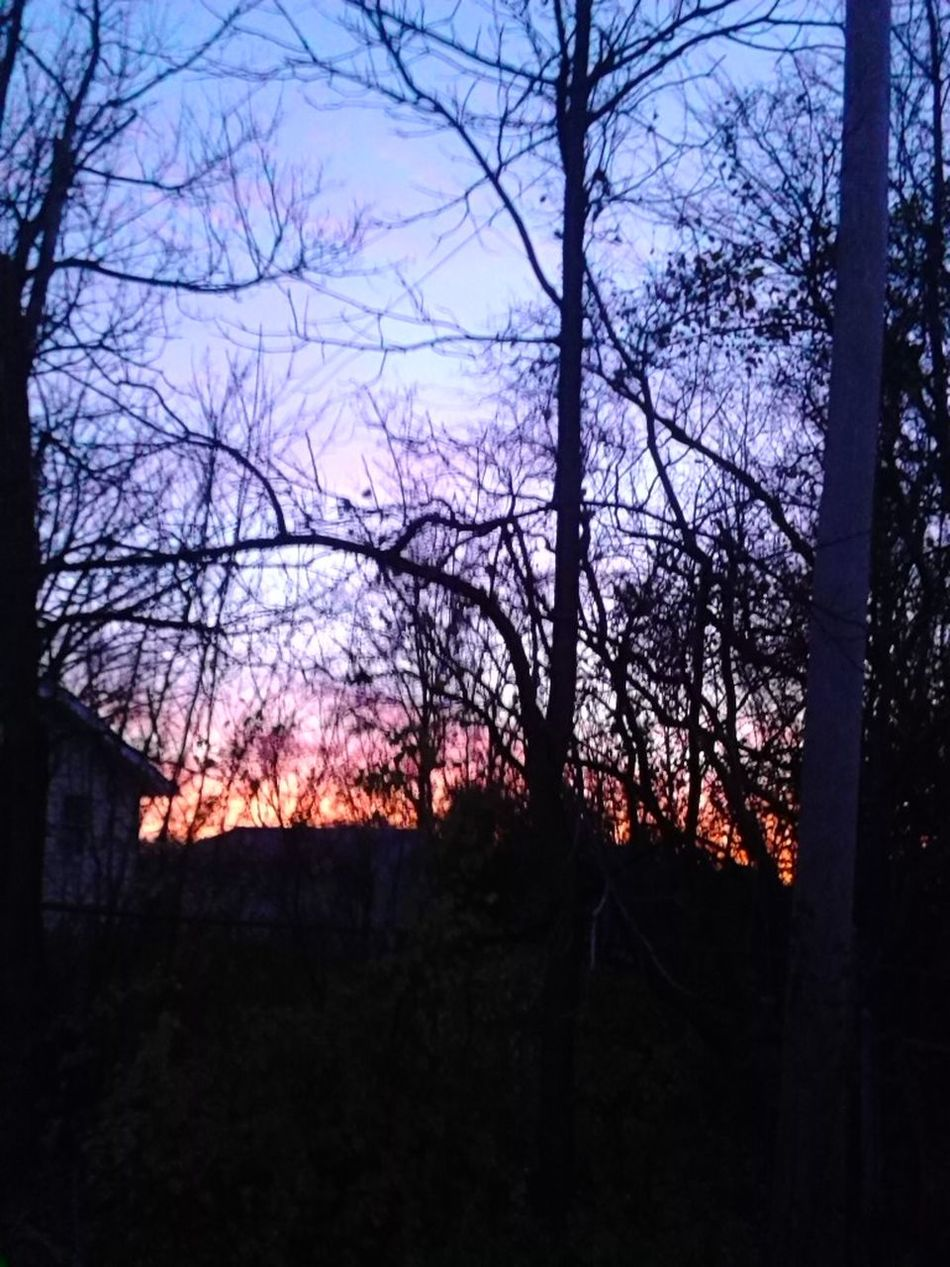 View From My Backyard Enjoying The Sunset Another Beautiful Evening Nature's Beauty