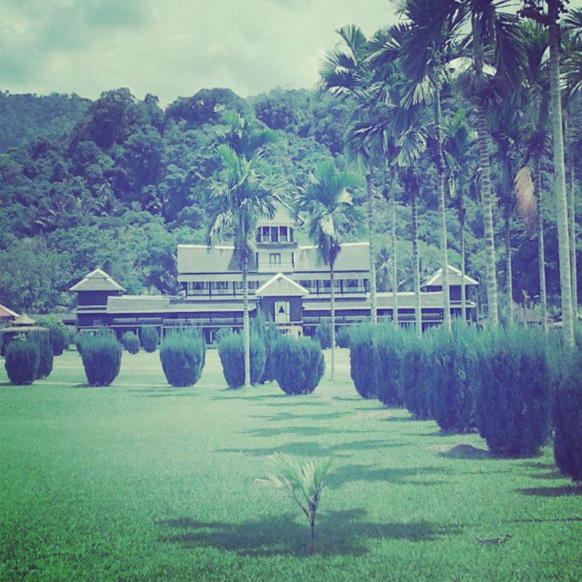I'm here at Serimenanti Istanalama Negerisembilan