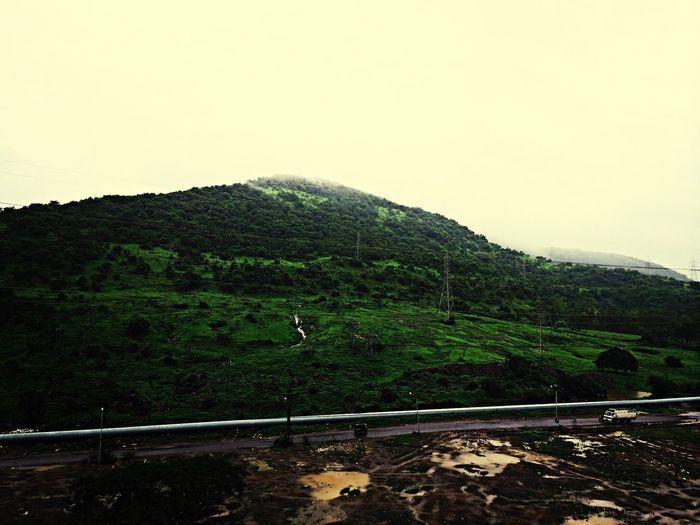 Mountains Landscape Clouds Morning Randomness