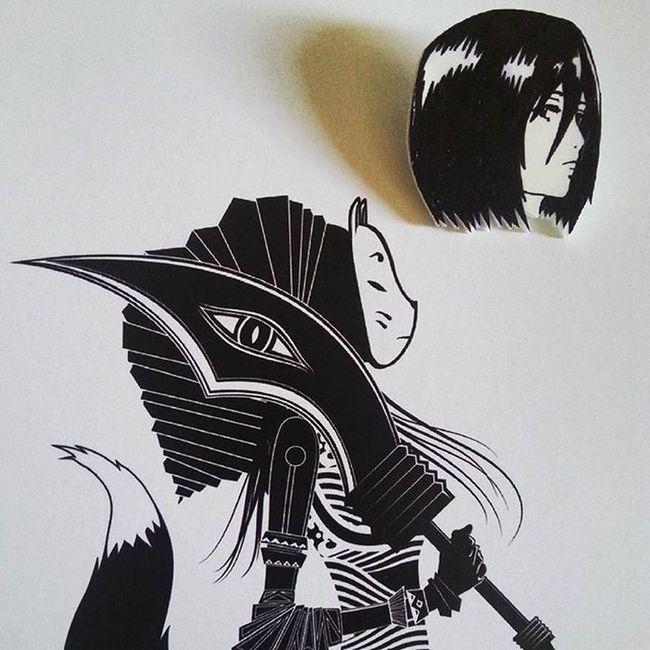 Mikasa Ackerman KvachiArt Natsumatsuri Anime Japan