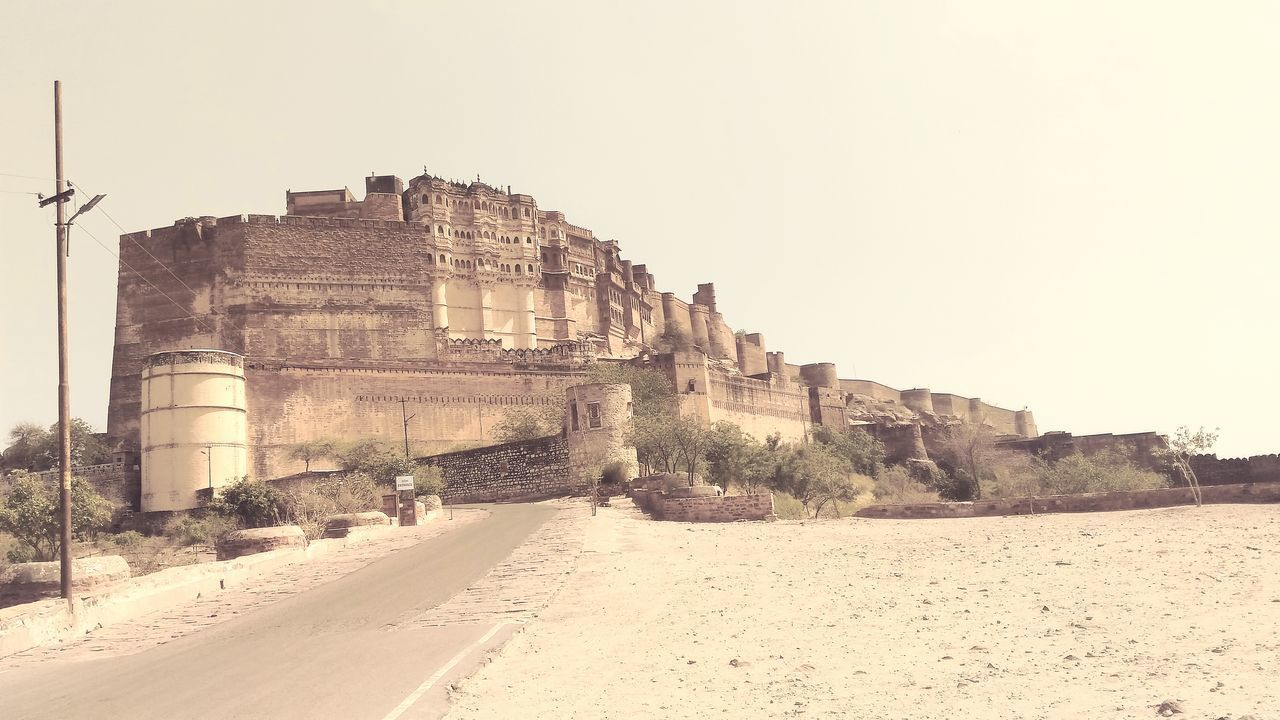 Ancient Ancient Civilization Architecture Building Exterior Built Structure Day Forts Of India Forts Photo Fortsinindia History Jodhpur History Mehrangarh Mehrangarh Fort Mehrangarhfort No People Old Ruin Outdoors Sky
