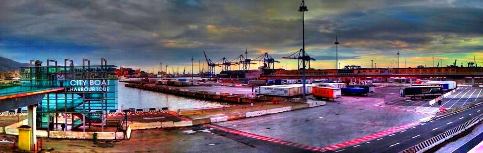 360 Panorama Hdr Edit Port City Boat