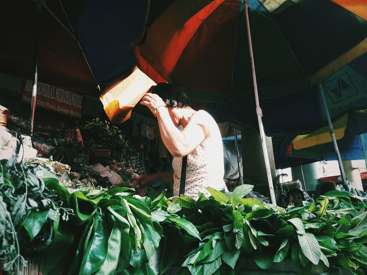One Man Only Only Men Adult Adults Only One Person Hanging People Outdoors Men Occupation Day Freshness Morning EyeEmPHLaborDay2017 EyeEm Phillippines The Photojournalist - 2017 EyeEm Awards Market Stall