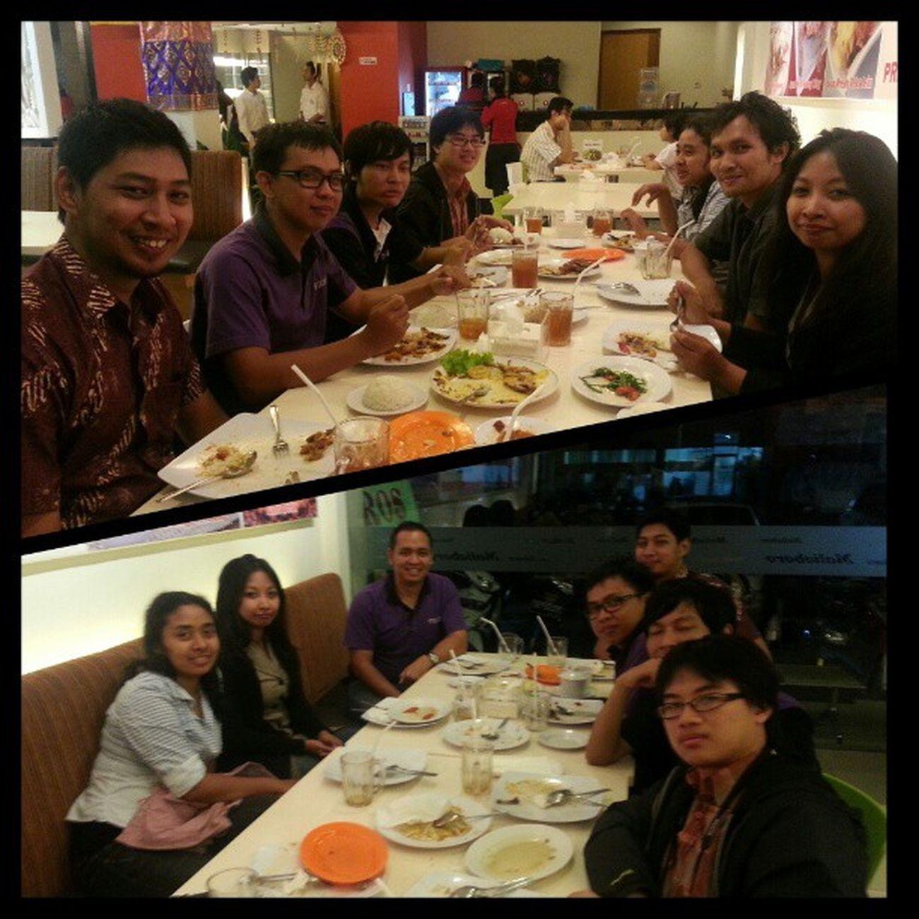 Team dinner. Mitrais