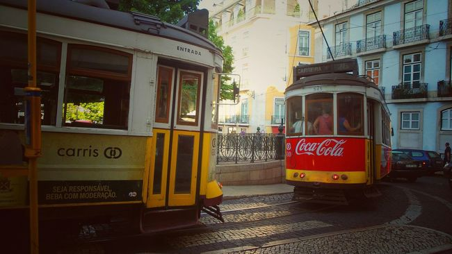 Let's take the tram! The Traveler - 2015 EyeEm Awards Urbanexploration Hanging Out