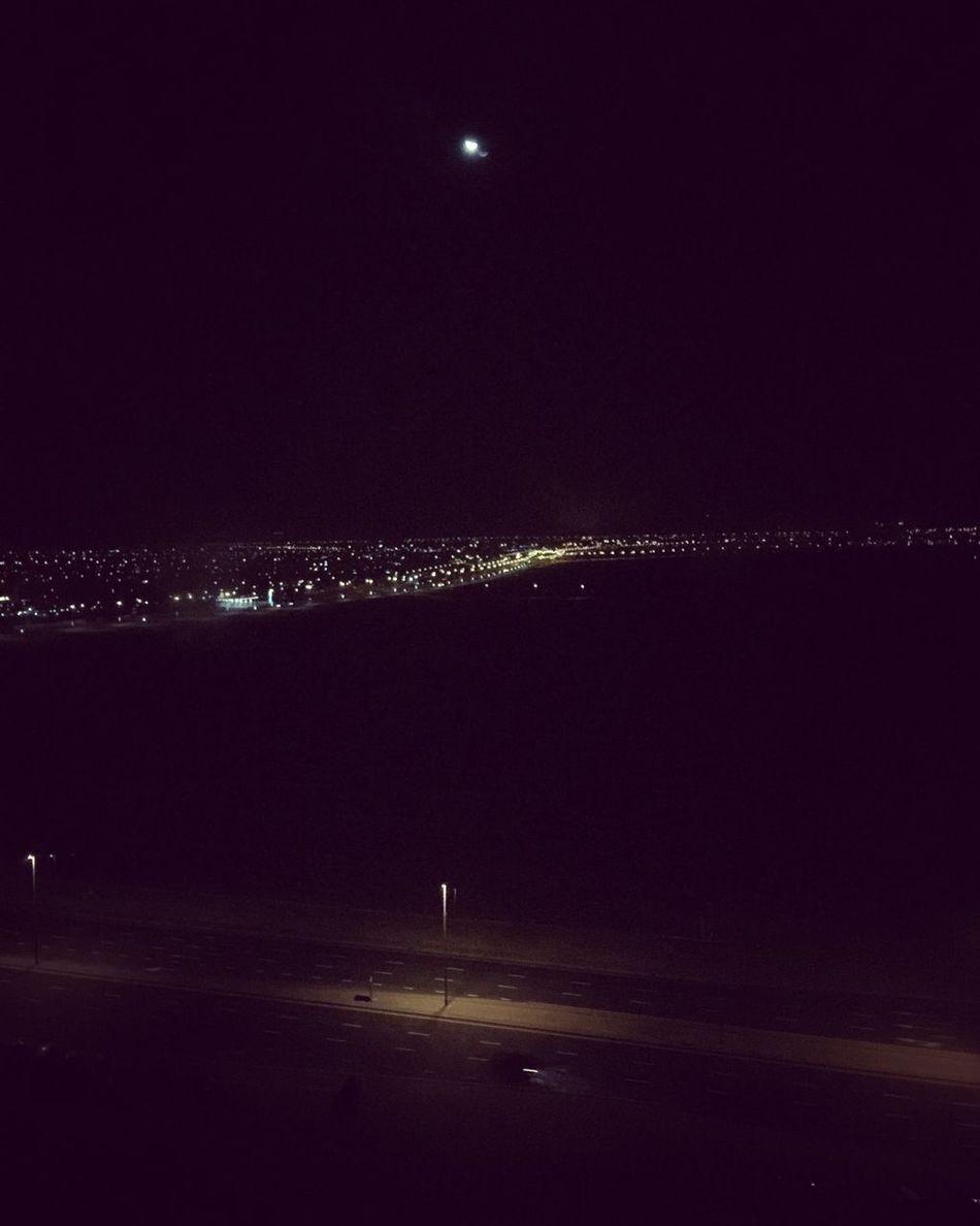 Tecom Dubai Light In The Darkness Calmnight Nightview Night Lights Nightphotography Moon Moonlight
