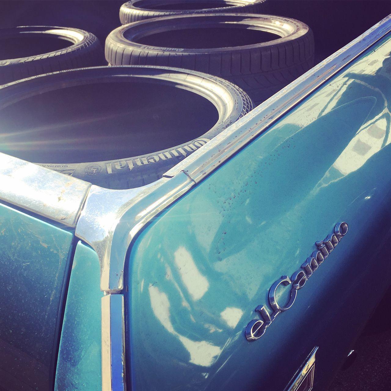 Hot Rod El Camino muscle car