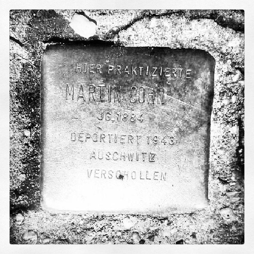 Martin Cohn, Arzt, born 1884, deported to Auschwitz Stolpersteine Berlin