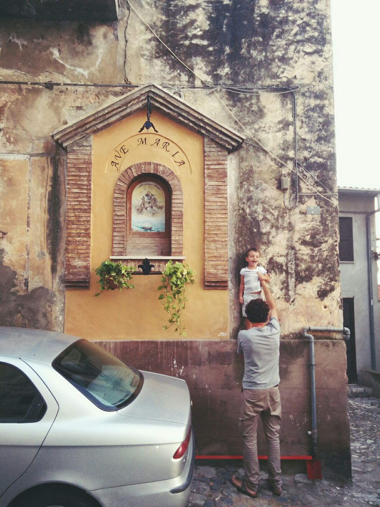 Father And Son Oldtown Terracina Italy Ariannabaronephotography Love Family Holiday POV Summer2015
