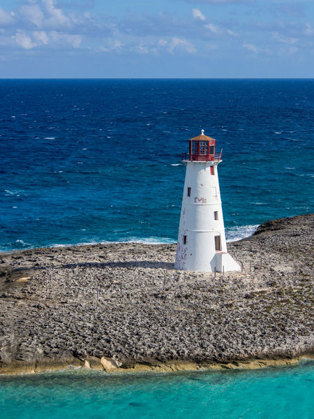 Lighthouse in Nassau, Bahamas. Bahamas Nassau Nassau, Bahamas Beauty In Nature Blue Building Exterior Caribbean Day Direction Guidance Horizon Over Water Lighthouse Nature No People Outdoors Scenics Sea Sky Tranquil Scene Tranquility Travel Destinations Vacation Water