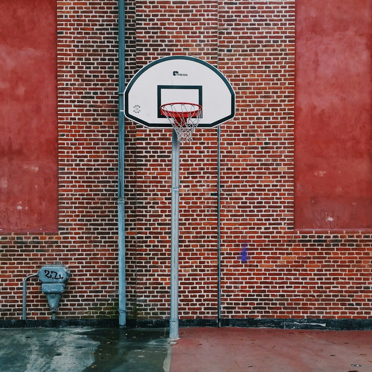 Beautiful stock photos of basketball, Architecture, Basketball - Sport, Basketball Hoop, Building