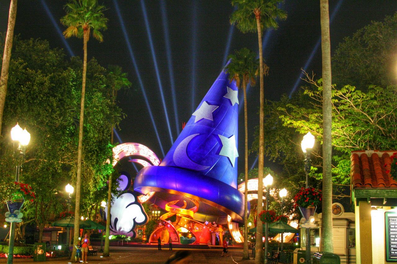 Sorcerers Hat Walt Disney World Disney's Hollywood Studios Orlando Orlando Florida Florida