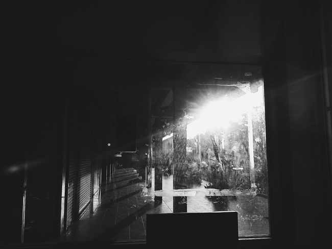 Shadows & Lights Shadow EyeEmNewHere Day School Black & White Black And White Collection  Indoors  Window Arts Culture And Entertainment