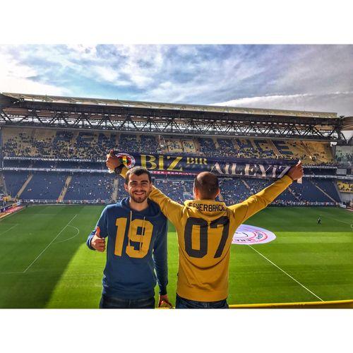 Fenerbahce  Sukrusaracoglu Kadıköy Two People Stadium